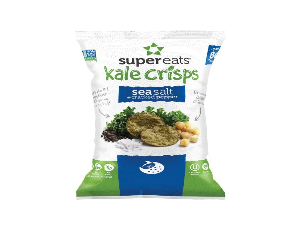 Kale Crisps – Sea Salt & Pepper (0.3oz)